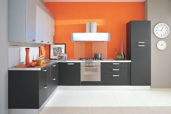 Bentuk Kitchen Model L