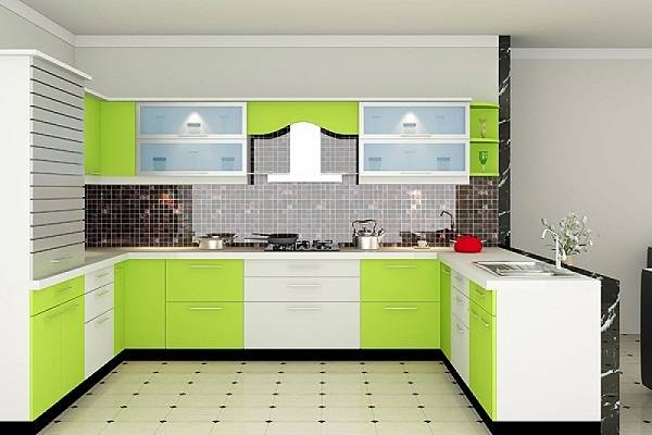Bentuk Kitchen Model U