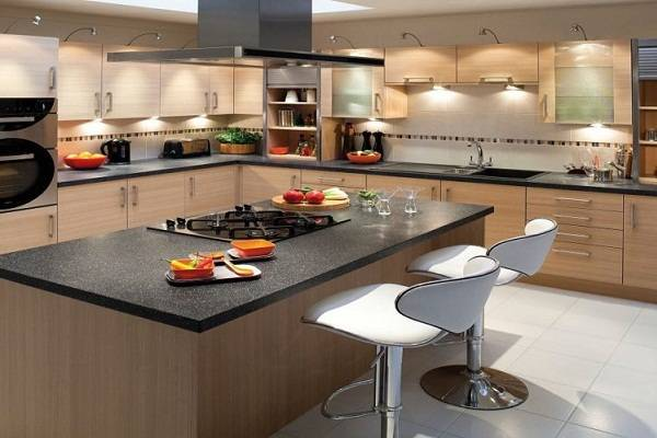 Bentuk Kitchen Set Island