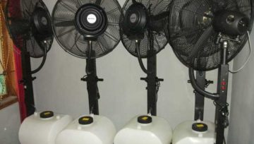 Jasa Sewa Kipas Angin Misty Fan Blower / Uap Air Di Purwokerto